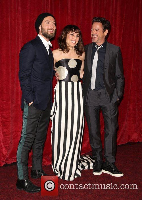 Jude Law, Noomi Rapace and Robert Downey Jr 3