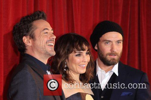 Jude Law, Noomi Rapace and Robert Downey Jr 4
