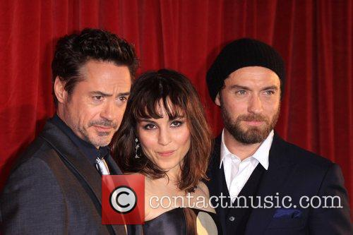 Jude Law, Noomi Rapace and Robert Downey Jr 2