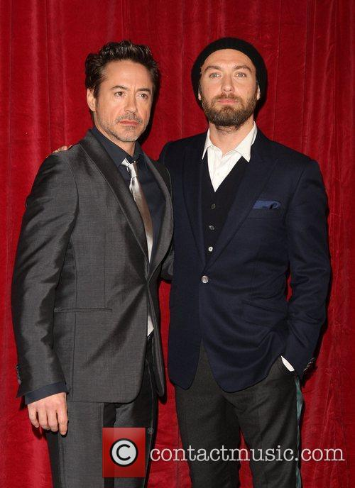 Robert Downey Jr and Jude Law 3