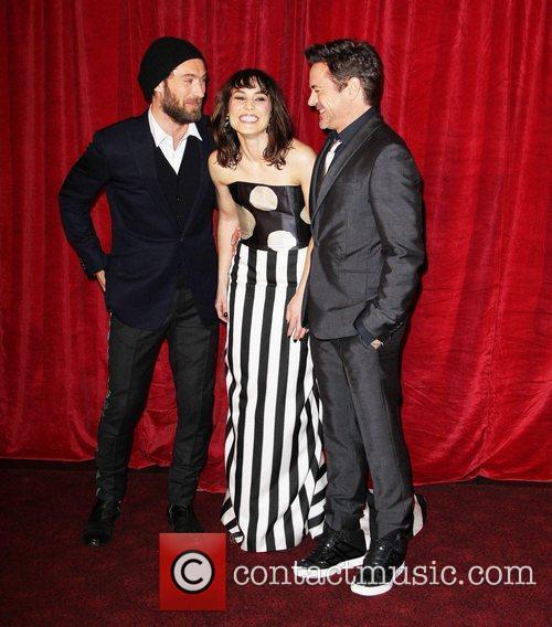 Robert Downey Jr, Jude Law, Noomi Rapace