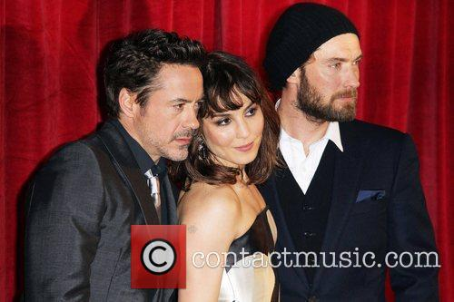 Robert Downey Jr, Jude Law and Noomi Rapace 3