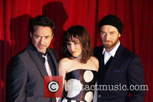 Robert Downey Jr, Jude Law and Noomi Rapace 5