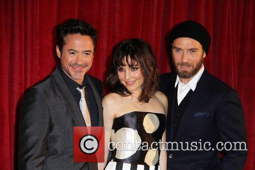 Robert Downey Jr, Jude Law and Noomi Rapace 2