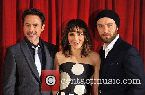 Robert Downey Jr, Jude Law, Noomi Rapace and Empire Leicester Square 4