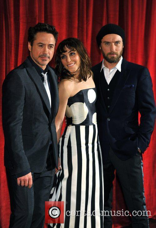 Robert Downey Jr, Jude Law, Noomi Rapace and Empire Leicester Square 6