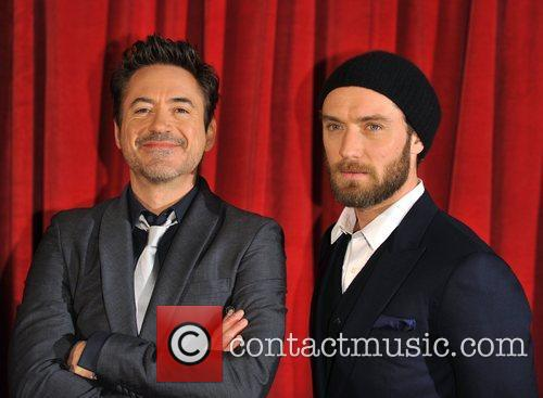 Robert Downey Jr, Jude Law, Empire Leicester Square