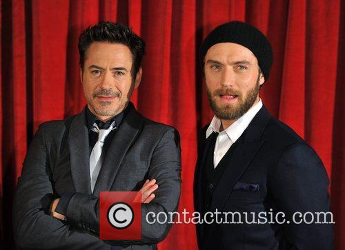 Robert Downey Jr, Jude Law and Empire Leicester Square 9
