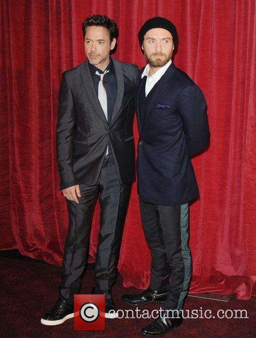 Robert Downey Jr, Jude Law and Empire Leicester Square 10