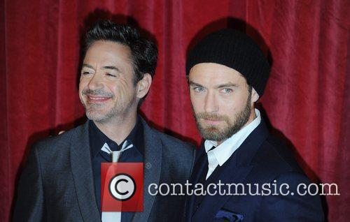 Robert Downey Jr, Jude Law and Empire Leicester Square 6
