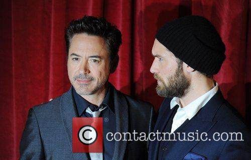 Robert Downey Jr, Jude Law and Empire Leicester Square 8