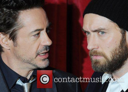 Robert Downey Jr, Jude Law and Empire Leicester Square 4