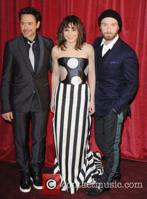 Robert Downey Jr, Jude Law, Noomi Rapace and Empire Leicester Square 9