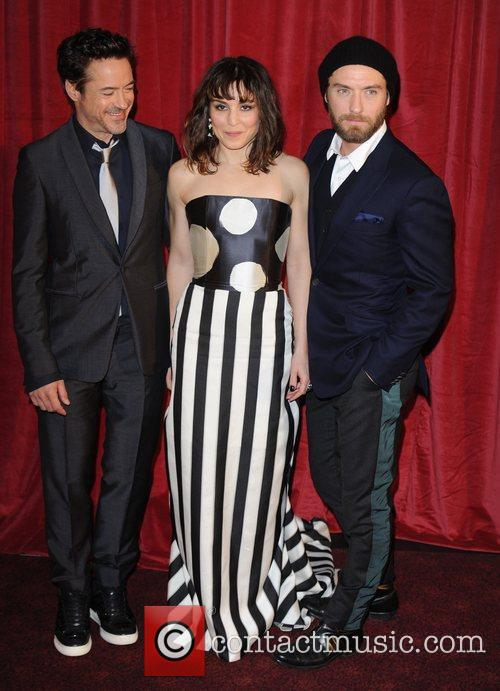 Robert Downey Jr, Jude Law, Noomi Rapace and Empire Leicester Square 3
