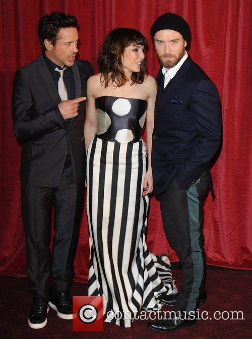 Robert Downey Jr, Jude Law, Noomi Rapace and Empire Leicester Square 7