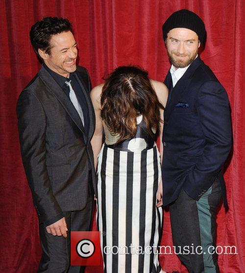Robert Downey Jr, Jude Law, Noomi Rapace and Empire Leicester Square 8