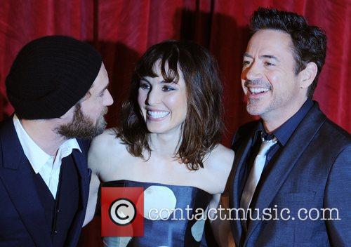 Robert Downey Jr, Jude Law, Noomi Rapace and Empire Leicester Square 2