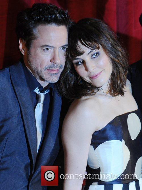 Robert Downey Jr, Noomi Rapace, Empire Leicester Square