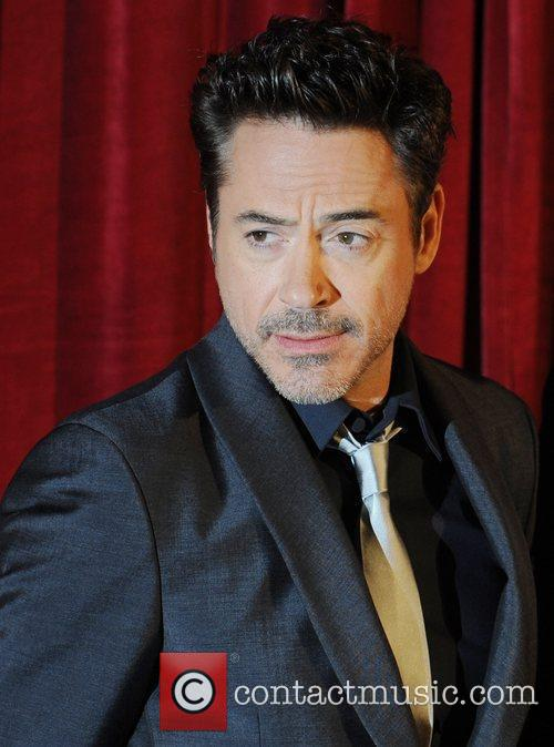 Robert Downey Jr, Jude Law and Empire Leicester Square 1