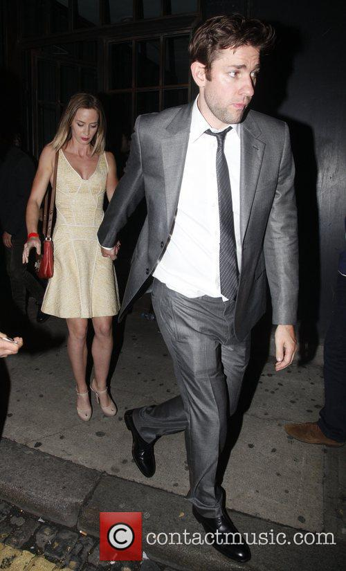 John Krasinski and Emily Blunt 2