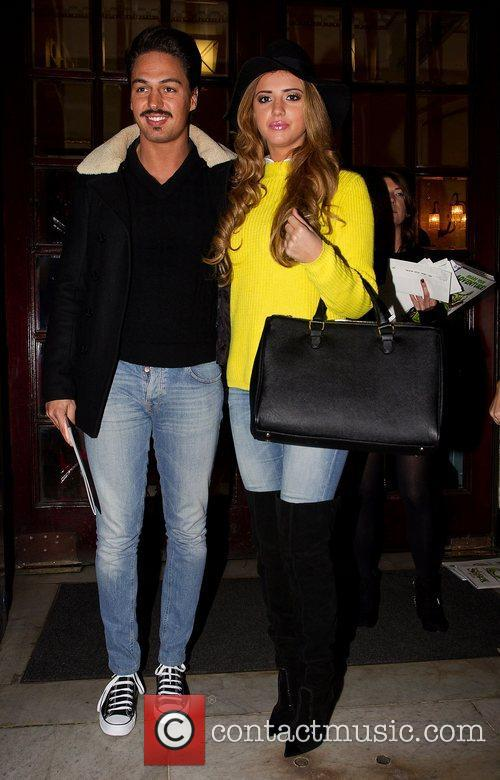 Lucy Mecklenburgh and Mario Falcone Shrek the Musical...