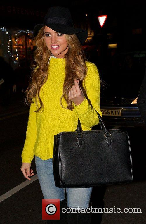 Lucy Mecklenburgh Shrek the Musical at Theatre Drury...
