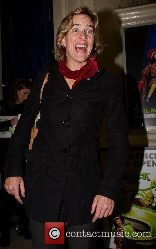 Katherine Grainger Shrek the Musical at Theatre Drury...