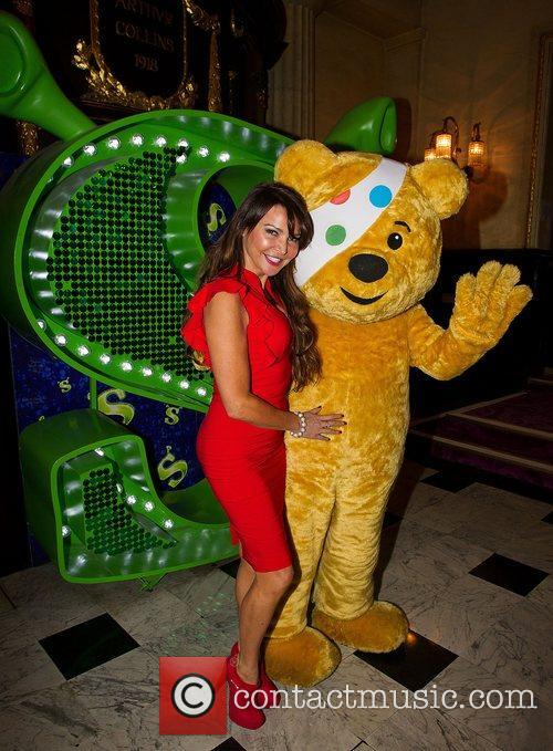 Lizzie Cundy and Pudsey 3
