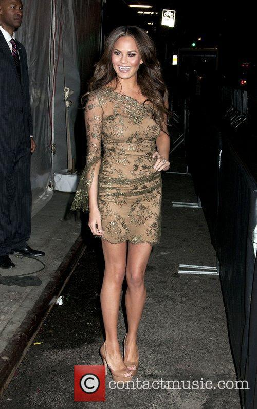 Christine Teigen Sports Illustrated Swimuit Issue 2012 party...