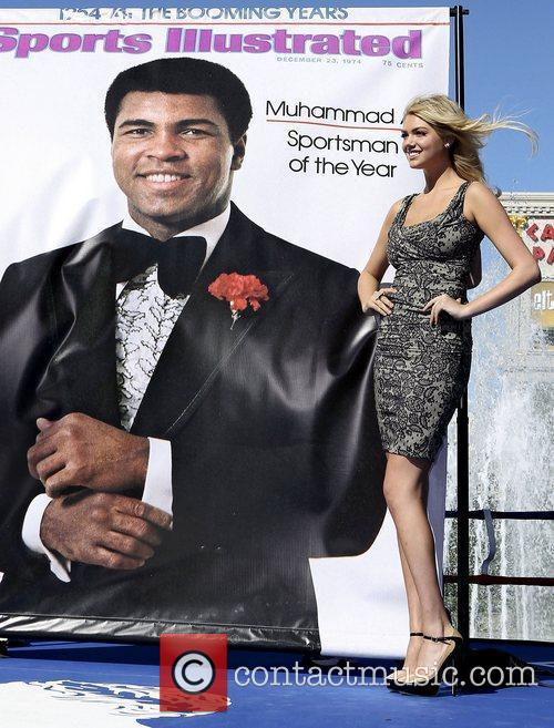 Kate Upton, Caesars, Muhammad Ali and Caesars Palace 3