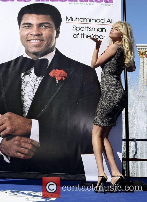 Kate Upton, Caesars, Muhammad Ali and Caesars Palace 4