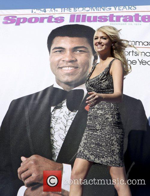 Kate Upton, Caesars, Muhammad Ali and Caesars Palace 1