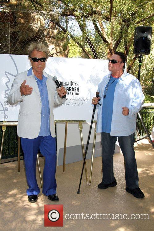 'Magicians Of The Century' Siegfried & Roy launch...