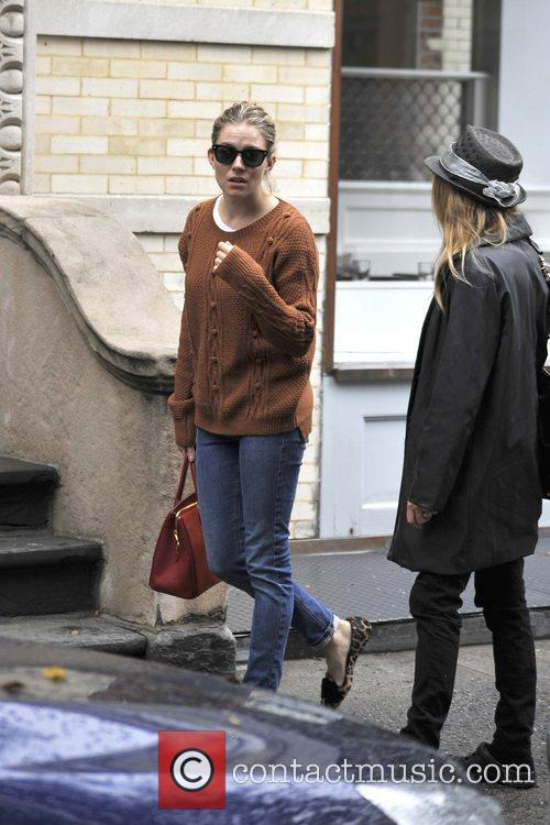 Sienna Miller, West Village, Manhattan