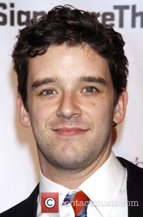 Michael Urie The Pershing Square Signature Center Opening...