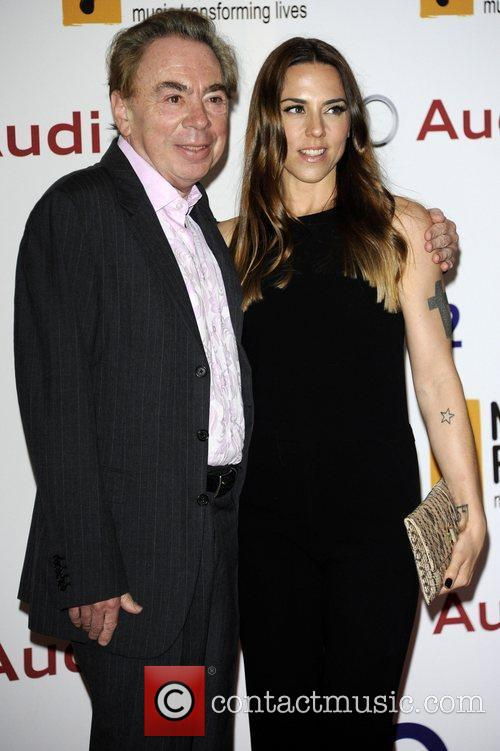 Andrew Lloyd Webber and Melanie C 1