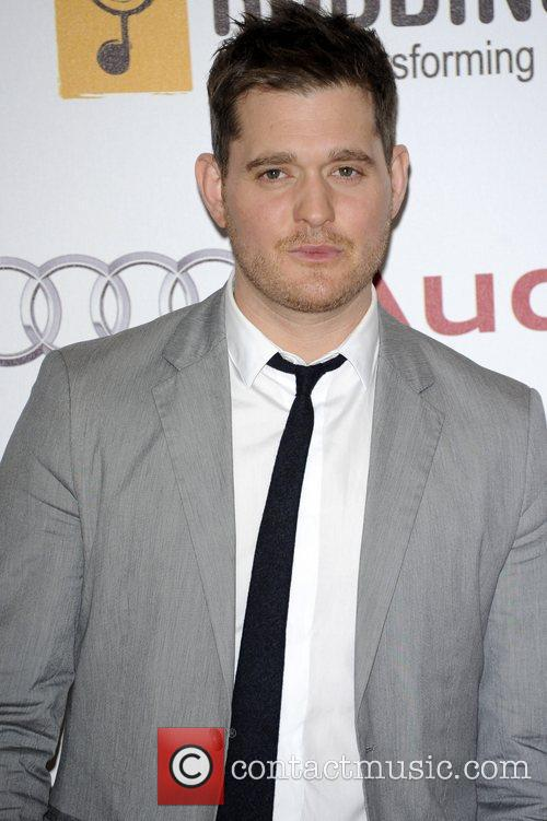 Michael Buble  Nordoff Robbins Silver Clef lunch...