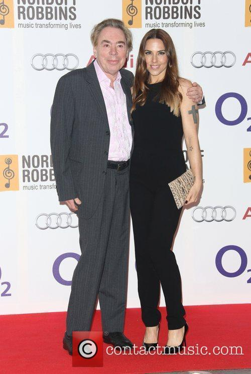 Andrew Lloyd Webber and Melanie C 3