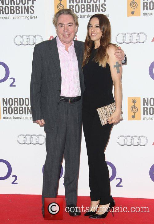Andrew Lloyd Webber and Melanie C 4