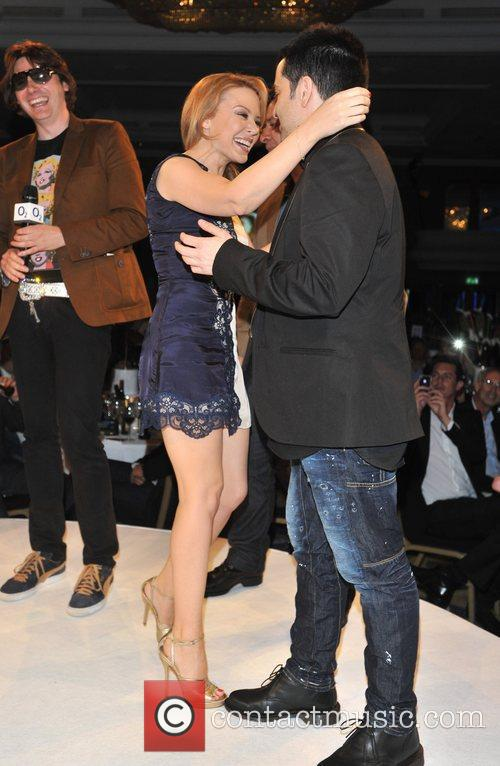 Kylie Minogue and James Dean Bradfield 2
