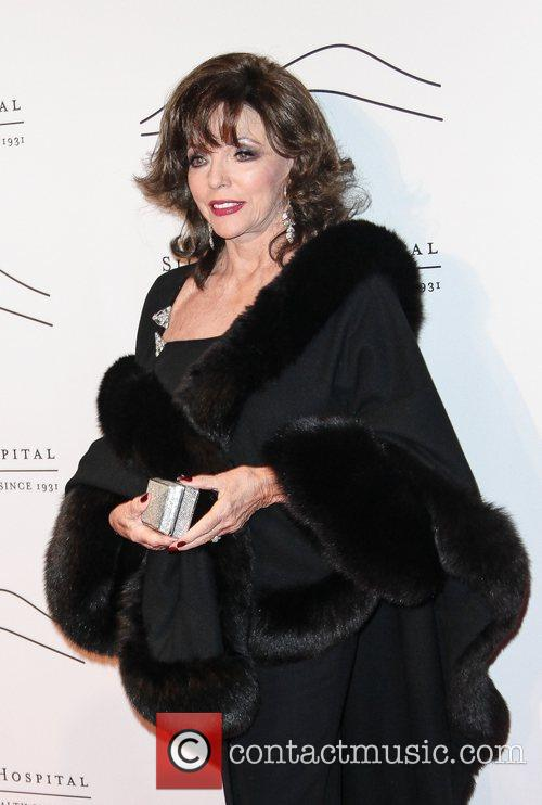 joan collins the silver hill 2012 gala 5959580