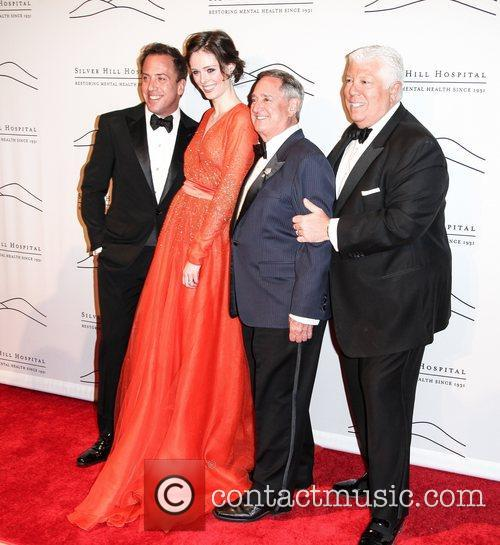 Michael Cominotto, Coco Rocha, Neil Sedaka and Dennis Brasso 2