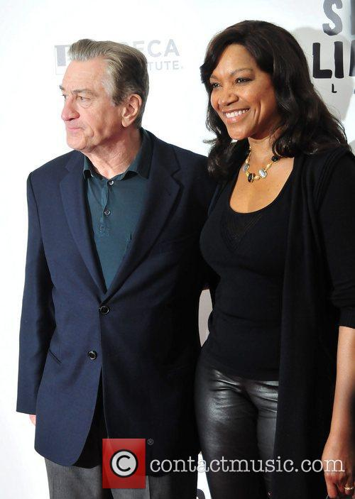 Robert De'Niro, Grace Hightower, Ziegfeld Theatre