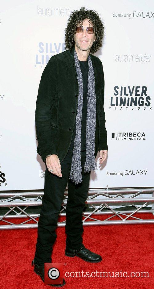 Howard Stern at Silver Linings Playbook premiere