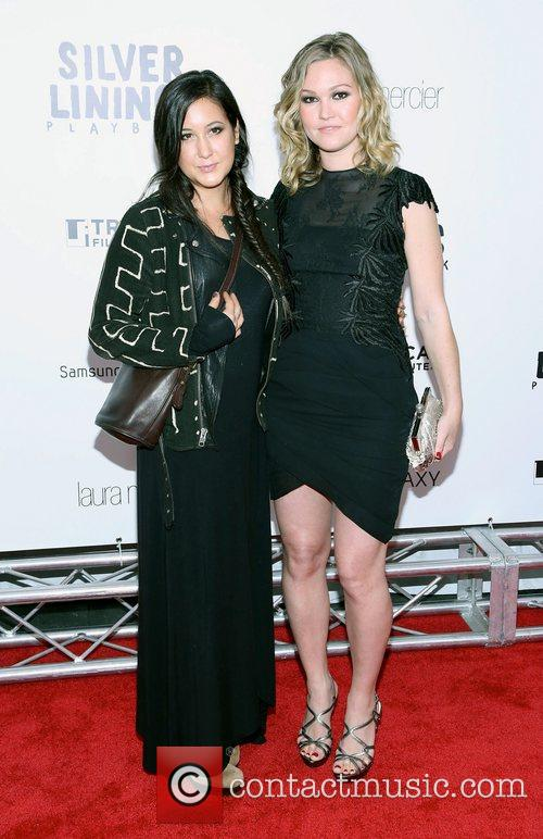Vanessa Carlton, Julia Stiles and Ziegfeld Theatre 2