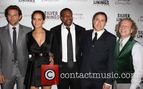 Bradley Cooper, Jennifer Lawrence, Chris Tucker, David O. Russell and Bruce Cowen 3