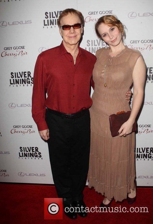 Danny Elfman and his daughter Mali Elfman...