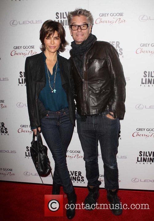 Lisa Rinna and Harry Hamlin  The Weinstein...