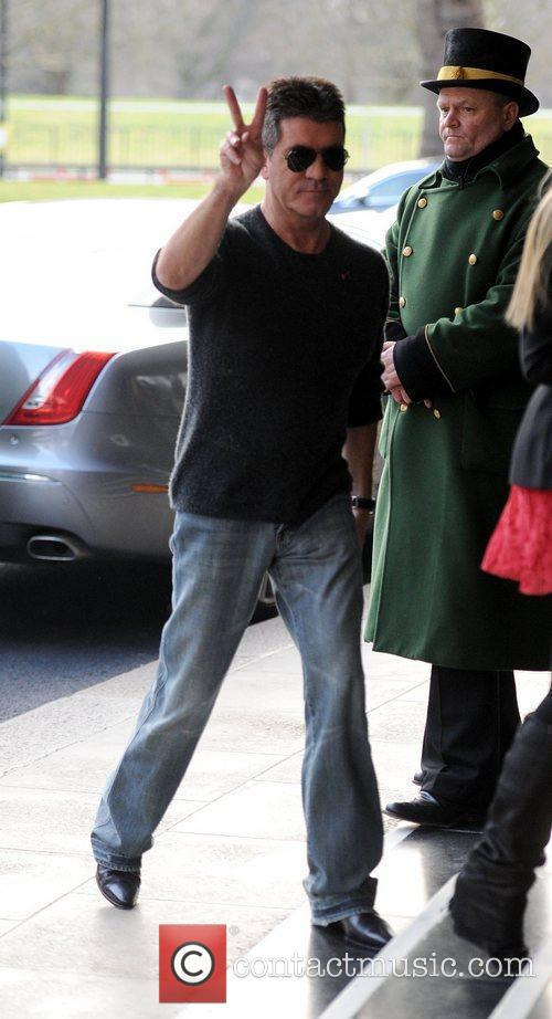 Simon Cowell and Dorchester Hotel 2