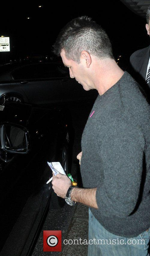 Simon Cowell and Dorchester Hotel 4